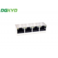 Quality 1X4 Ports 180 Degrees RJ45 With LEDTAB-UPRJ45 Network Connection for sale