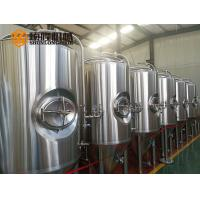 Buy cheap 600L SUS304 stainless steel bright polished concial fermentation tank from wholesalers