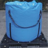 Quality High Strength Blue Recycled Jumbo Bag Storage Full Open Top / Filling Spout Top for sale