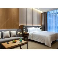 China Modern Laminate Hotel Bedroom Furniture Sets Optional Size Plywood MDF Materials on sale