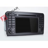 Quality Mercedes Benz Car Audio Gps Navigation , Mercedes Ml Dvd Player With Dual CANbus for sale