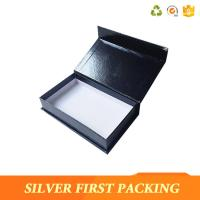 China Silver First  accept custom made logo printing decorative book shape magntic paper storage gift boxes on sale