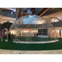 Quality Luxury Waterproof Transparent Geodesic Dome Tents For Outdoor event / Show / Ceremony / Exhibitions for sale