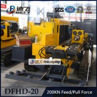 China Widely Used DFHD-20 Horizontal Directional Drilling Machine HDD Rigs on sale