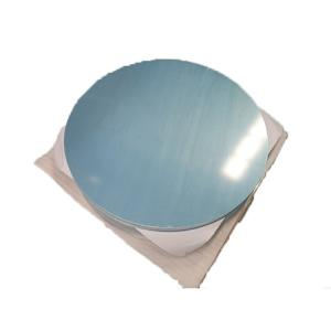 Quality O-H112 Temper 1050 1100 Aluminium Round Plate For Cookware for sale