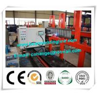 Quality Corrugated Web H Beam Production Line , Truck Panel Corrugated Plate Welding Machine for sale
