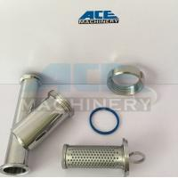 Quality DIN/SMS/3A Sanitary Stainless Steel 304/316L Y Type Welded/Clamped/Threaded Strainer for sale