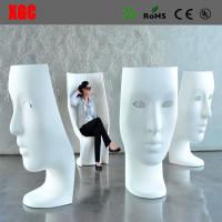 Best Funny Fiberglass Mask Arm Chair Patio Fiberglass Outdoor Mask Chair Back Rest Leisure Mask Chair wholesale