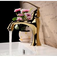 Best Modern single lever polished brass bathroom faucet bath taps wholesale
