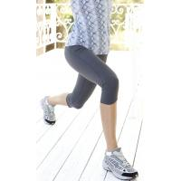 China Antimicrobial deodorise Women's Craft Running Clothing 3 / 4 Jogging Pants Tights on sale