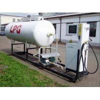 China 10,000Liters Q345R Steel White LPG Autogas Station Application LPG Dispenser on sale