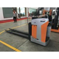 China 2000kg Sitting Type Electric Pallet Truck Extra Fork Length, USB Interface For Cellphone Charging on sale