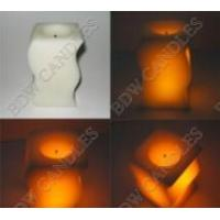 China Led Flameless Wax candles on sale