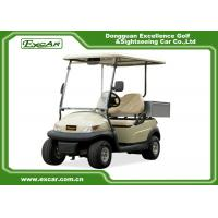 Quality Ce 2 Seater Electric Golf Car Italy Graziano Axle 48v Trojan Battery for sale