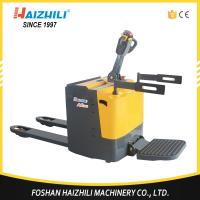 China Hot selling material handing tools 2500kg full electric automatic pallet truck on sale