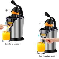 Buy cheap Citrus Juicer Electric 85W Stainless Steel Orange Juicer Squeezer with Soft Grip from wholesalers