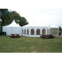 China Outdoor Mixed Huge European Style Tents Aluminum Heavy Duty Tents Wind - Resistant on sale