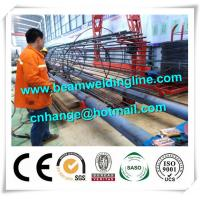 Quality Tank Welding Tower Production Line , Rebar Cage Winding Machine for sale