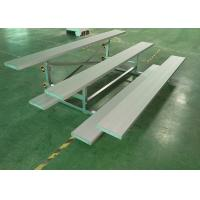 Quality Portable Bleachers Temporary Spectator Stands Moveable With Single Footboard for sale