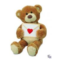 Best Stuffed Custom Plush Toy Animals Bears Greeting with a Love Letter for Gifts wholesale