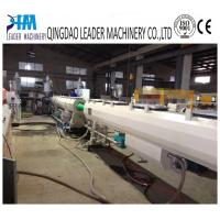 Quality 50-160mm pp soundproof water drainage pipe extrusion machine for sale