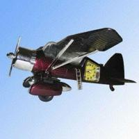 Buy cheap Four-hand Aeroplane Alarm Clock with Fine Imitation Case from wholesalers