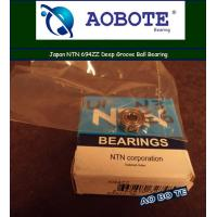 Quality Single Row Japan NTN Ball Bearings 694ZZ With ZZ Seal ABEC 5 for sale