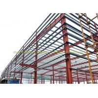 low cost Steel Structure Galvanized Industrial Building warehouse Metal Truss