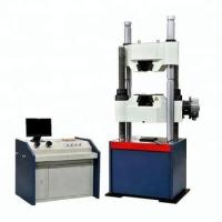 Quality WAW-1000C Hydraulic UTM Universal Testing Machine With Worm Gear System For Bolt Tensile Strength Test for sale