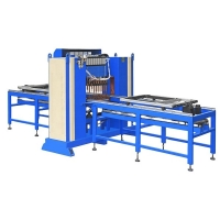 Quality Automatic 3-6mm 3D fence mesh panel welding wire mesh making machine for building for sale