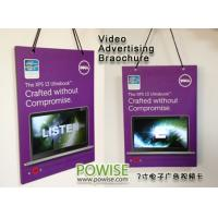 Best 7 Inch TFT LCD Video LCD Card Video Brochure Mini Advertising Player 2GB wholesale