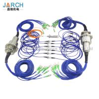 Quality Multi - Channels Fiber Optic Rotary Joint  High Speed With Aluminum Housing for sale