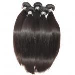 Quality Straight Virgin Human Hair Bundles Peruvian Hair Extension Full Cuticle No Acid for sale