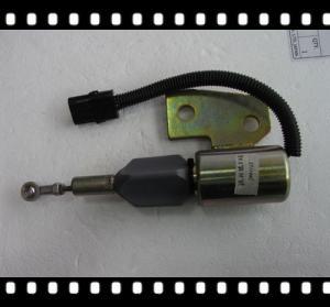 China Cummins 3991167 (12VDC), 3991168(24VDC) stop solenoid apply to hyundai excavator on sale