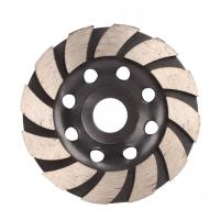 China Cup Shaped Diamond Saw Blades For Concrete , Diamond Disc Cutter Blades on sale