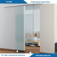 Buy cheap Acid Etched or Satined Glass Sliding Door System from wholesalers