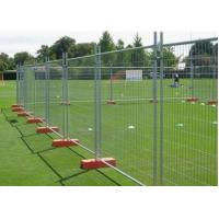 Quality Crowd Control Portable Temporary Fence 50*50mm Hole For Construction Sites for sale