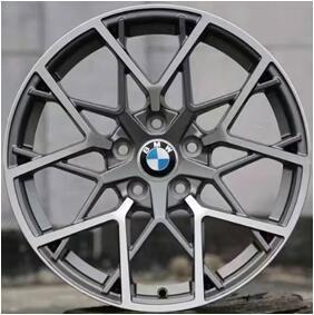 New design casting alloy wheel 20 inch 5*120 chrome aluminum rim from China