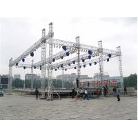 Custom Length Aluminium Trade Show Truss Display Stand Truss For Exhibition Show for sale
