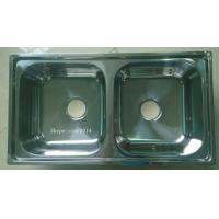 Quality modular kitchen stainless steel  sink with deep bowl 7843 cheap price for sale