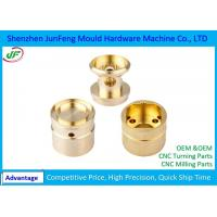 Quality Custom CNC Brass Components , Brass Precision Components OEM / ODM Service for sale