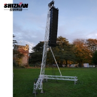 Buy cheap Stage Aluminum Spigot Truss 1m 2m Length from wholesalers