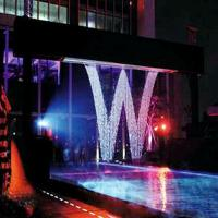 Quality Wedding Decoration Digital Water Curtain Fountain SS304/SS316/ Iron Cast Material for sale