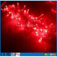 Best Best selling 220V red led twinkle fairy Christmas string lights 10m wholesale