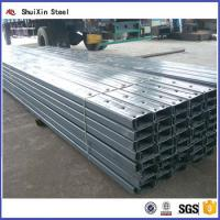 Quality Structural Steel Cold Formed C Channel For Construction for sale