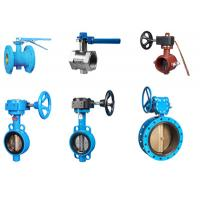 Quality Double End Flanged Butterfly Valves For Potable Water Supply / Distribution for sale