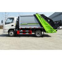 Quality Mini 3 Ton Compactor Small Garbage Truck Euro 3 Engine Power 90-150HP for sale
