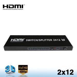 China HDMI 2x12 DISTRIBUTION AMPLIFIER SPLITTER on sale