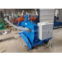 Quality High Speed Crimping Standing Seam Roll Forming Machine For Roof Panel for sale