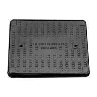 Quality Clear Opening Rectangular Manhole Cover Ductile Iron Sand Casting Bitumen / Epoxy Painting for sale